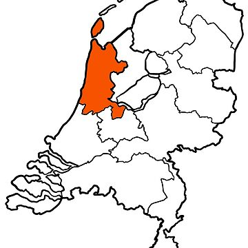 NOORD-HOLLAND - provincie van Nederland (province of The Netherlands) by From-Now-On