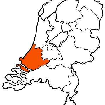 ZUID-HOLLAND - provincie van Nederland (province of The Netherlands) by From-Now-On