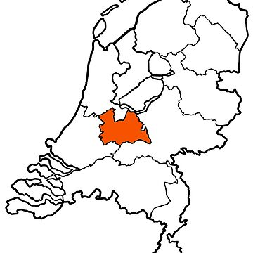 UTRECHT - provincie van Nederland (province of The Netherlands) by From-Now-On