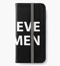 Believe Women iPhone Wallet/Case/Skin