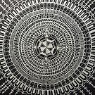 mandala no. 3 by Barry W  King