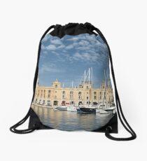 The Maltese Maritime Museum Drawstring Bag