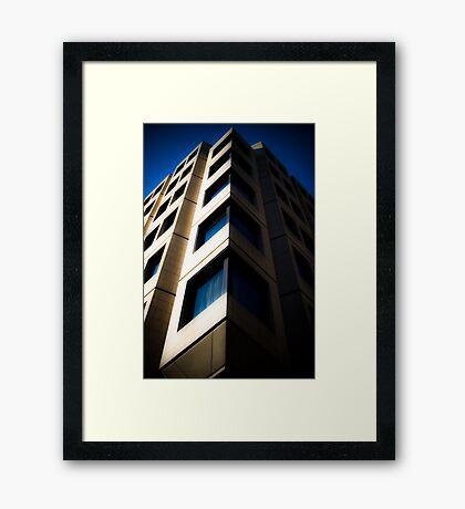 Angle Office 2. Framed Print