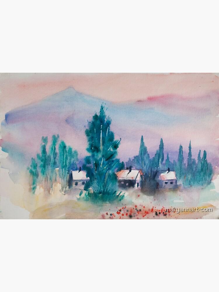 The Village by maryannart-com