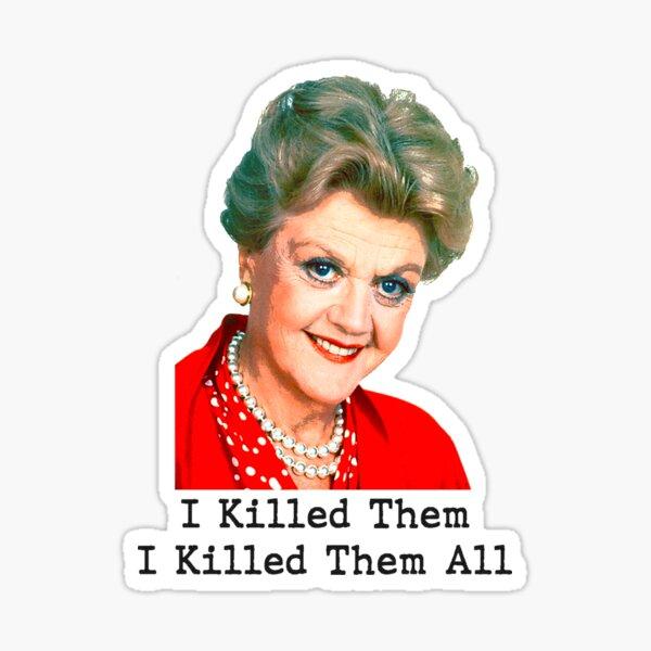 Murder She Wrote! Sticker