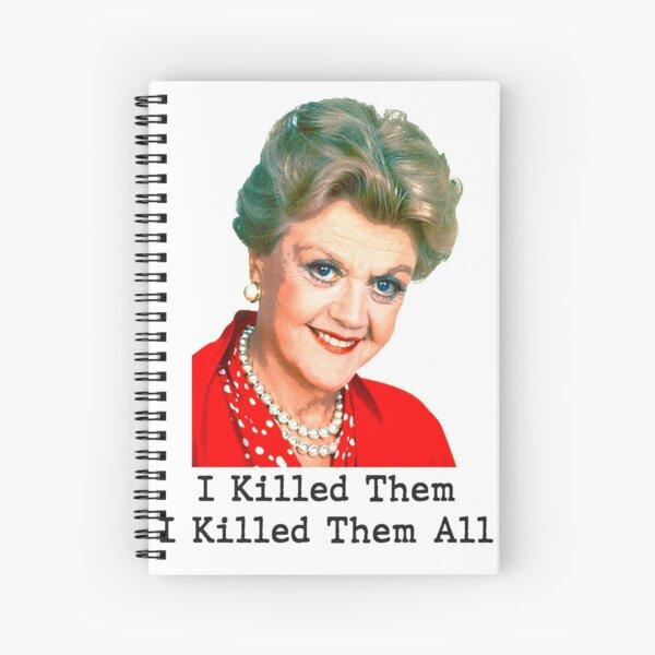 Murder She Wrote! Spiral Notebook
