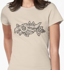 Fish Eagle Womens Fitted T-Shirt