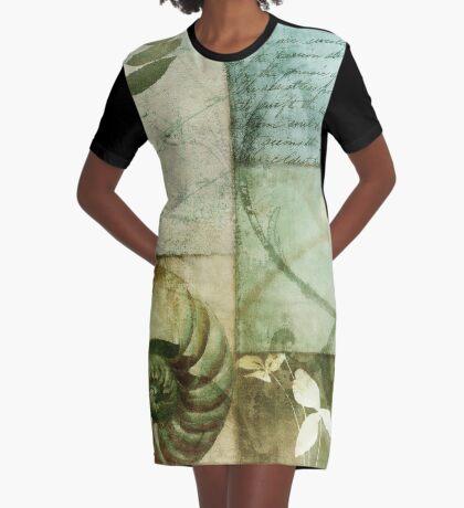 Beach Expressions I Graphic T-Shirt Dress
