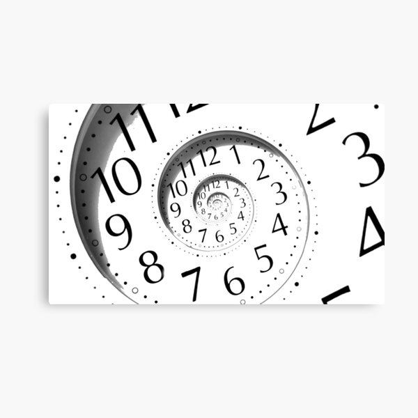 #clock, #watch, #deadline, #timer, #time, countdown, number, alarm clock, dial in, midnight, chronometer, accuracy, dial Canvas Print