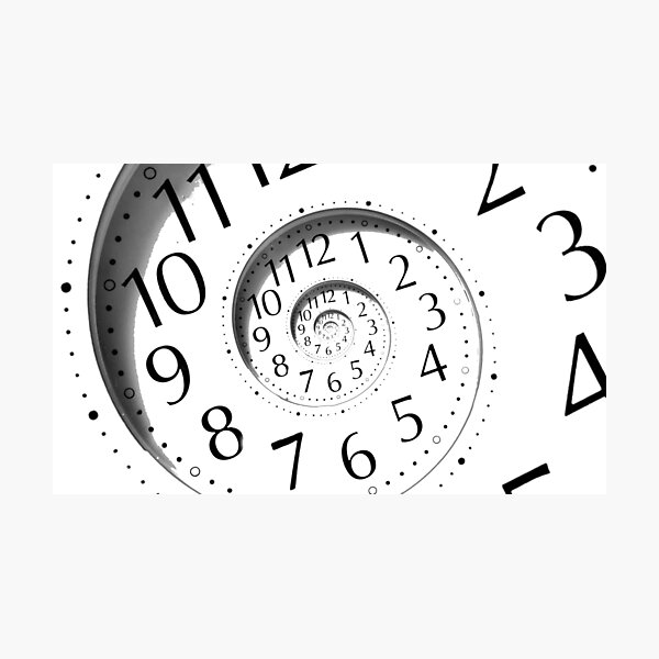 #clock, #watch, #deadline, #timer, #time, countdown, number, alarm clock, dial in, midnight, chronometer, accuracy, dial Photographic Print