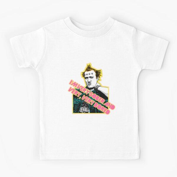 Vyvyan Young Ones 80s Tribute Punk Design Kids T-Shirt