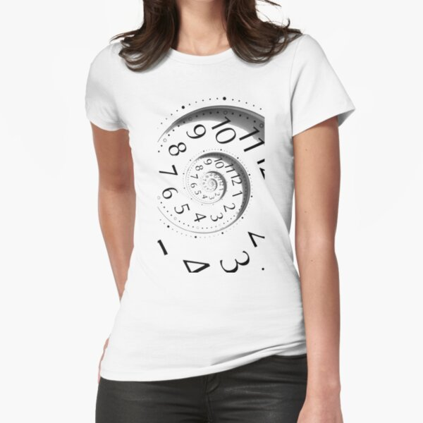 #watch, #deadline, #timer, #time, #clock, countdown, number, alarm clock, dial in, midnight, chronometer, accuracy, dial Fitted T-Shirt