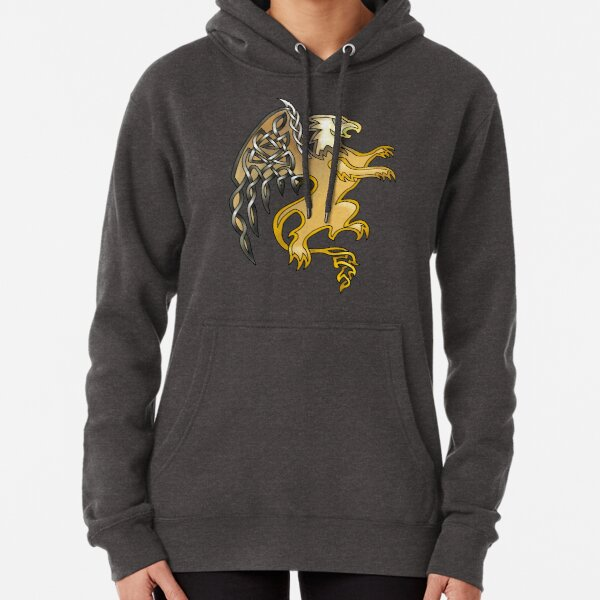Celtic Knot Griffin Pullover Hoodie
