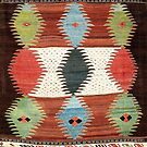 Khalaj  Antique North Persian Kilim by Vicky Brago-Mitchell