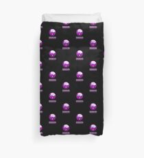 Funny Nerdy Geek Cartoon by 'Chillee Wilson' Duvet Cover