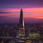 A Fiery London Sunset  by chrisjdalton