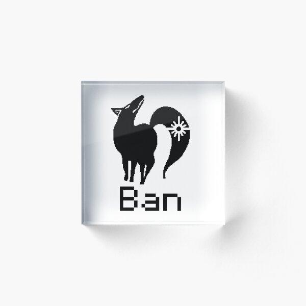 The Seven Deadly Sins Ban Fox - Pixel Art Acrylic Block