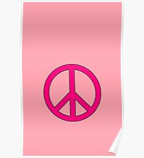 Peace Sign by Chillee Wilson Poster