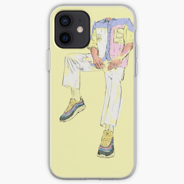 Nike Air Max - Yellow  iPhone Soft Case