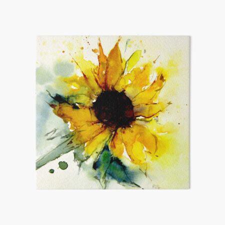 sunflower Art Board Print