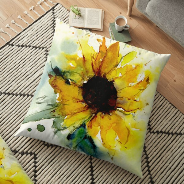 Watercolor Pillows Cushions Redbubble