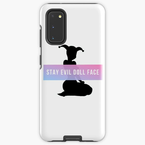Stay Evil Doll Face Samsung Galaxy Tough Case