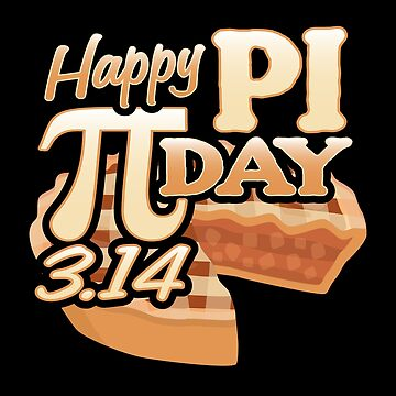 Pi Day 3.14 Number 3.14159265359... Math Geek Gift by highparkoutlet