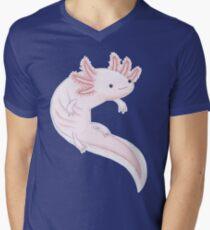 Axolotl Men's V-Neck T-Shirt