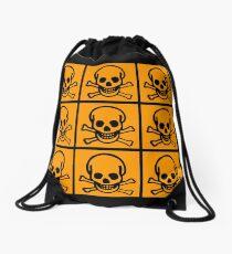 Skulls by Chillee Wilson Drawstring Bag