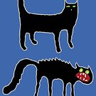 The Two Emotional States Of The Domestic Cat by GaffaMondo