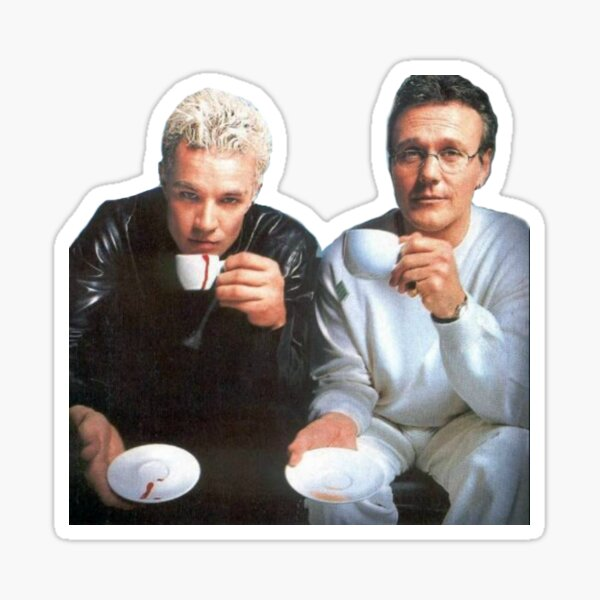 Spike & Giles Pegatina