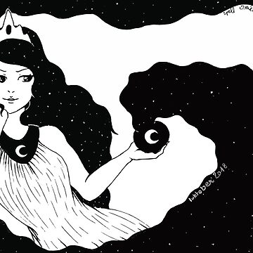 «Inktober jour 4 - Sortilège» par Omelia-Plude
