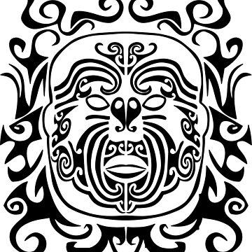 Maori Ink by cartoonblog