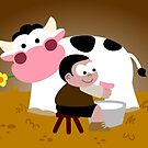 Milking Boy by Sonia Pascual