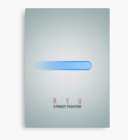Street Fighter - Ryu Canvas Print
