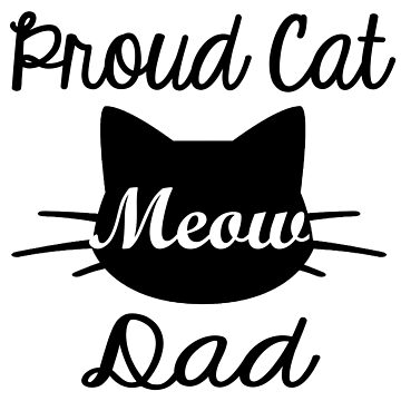 Proud cat dad by Sasya