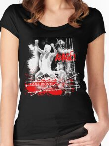 rage Women's Fitted Scoop T-Shirt
