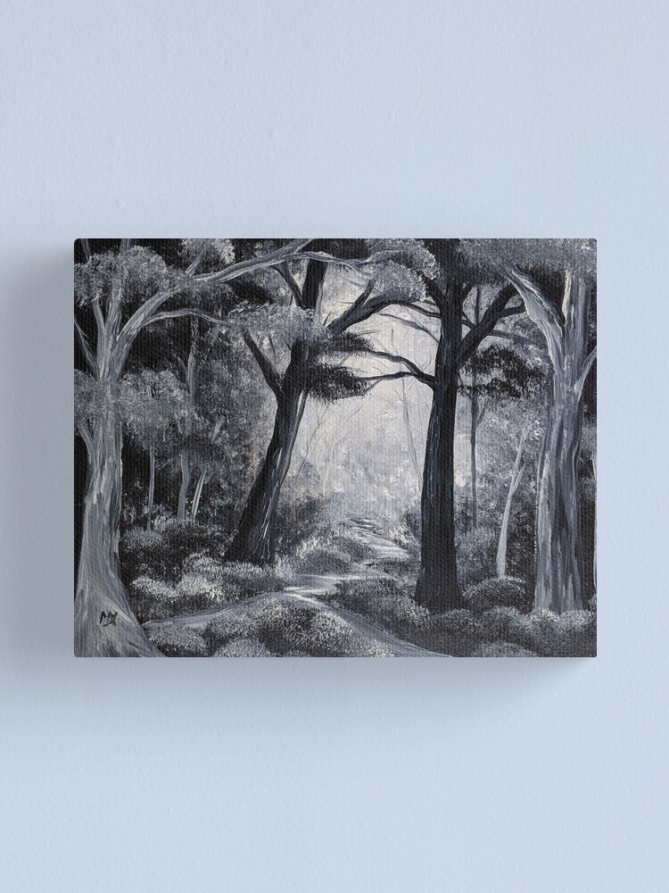 Alternate view of Less Travelled Canvas Print