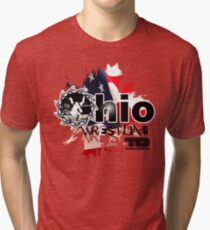 ohio wrestler Tri-blend T-Shirt