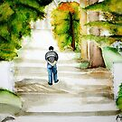 Walking away by maiboo
