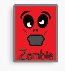 Zombie by 'Chillee Wilson' Canvas Print