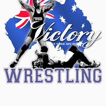 aussie wrestler by takedown
