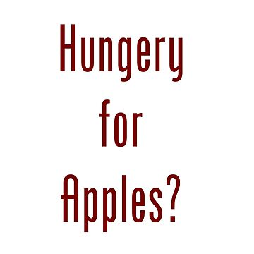 Hungery for Apples by LinuxKllr