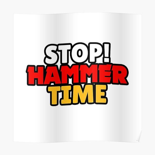 Brawl Stars - STOP! TEMPS DE MARTEAU Poster