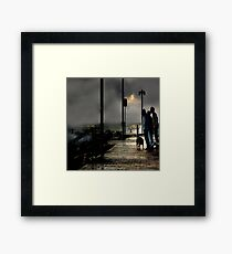 Storm Watchers Framed Print