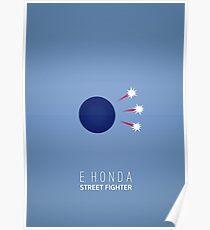 Street Fighter - E. Honda Poster