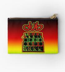 Dub Soundsystem-Rasta Zipper Pouch