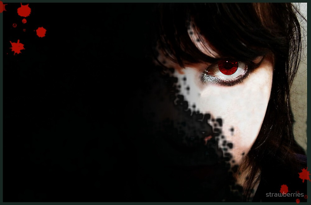 vampire eye by strawberries