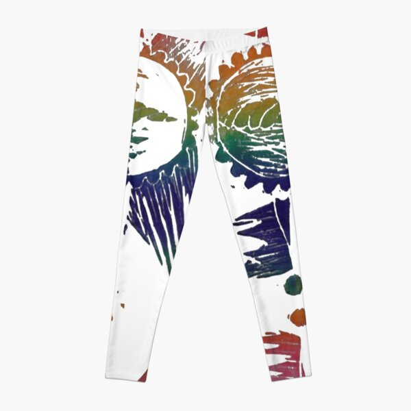 She Sells Seashells - Rainbow Leggings