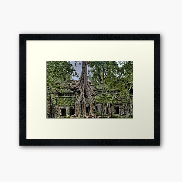 Angkor Framed Art Print
